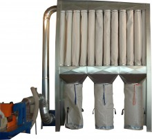 EKO R type dust filtration units