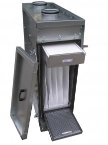 Filtration units for ventilation