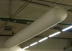 Текстиля воздухопроводы