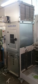Filtration units for industrial dust