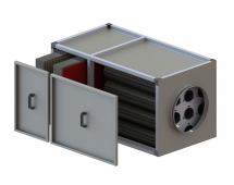 Filtration units with activated carbon