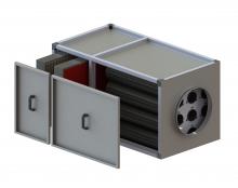 Filtravimo kasetės su anglimi