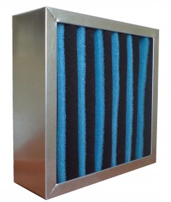 AC carbon filter panels