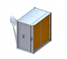 Filtravimo kasetės vėdinimui