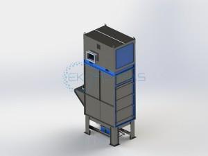 EKO CF6 su hoperiu ir konteneriu